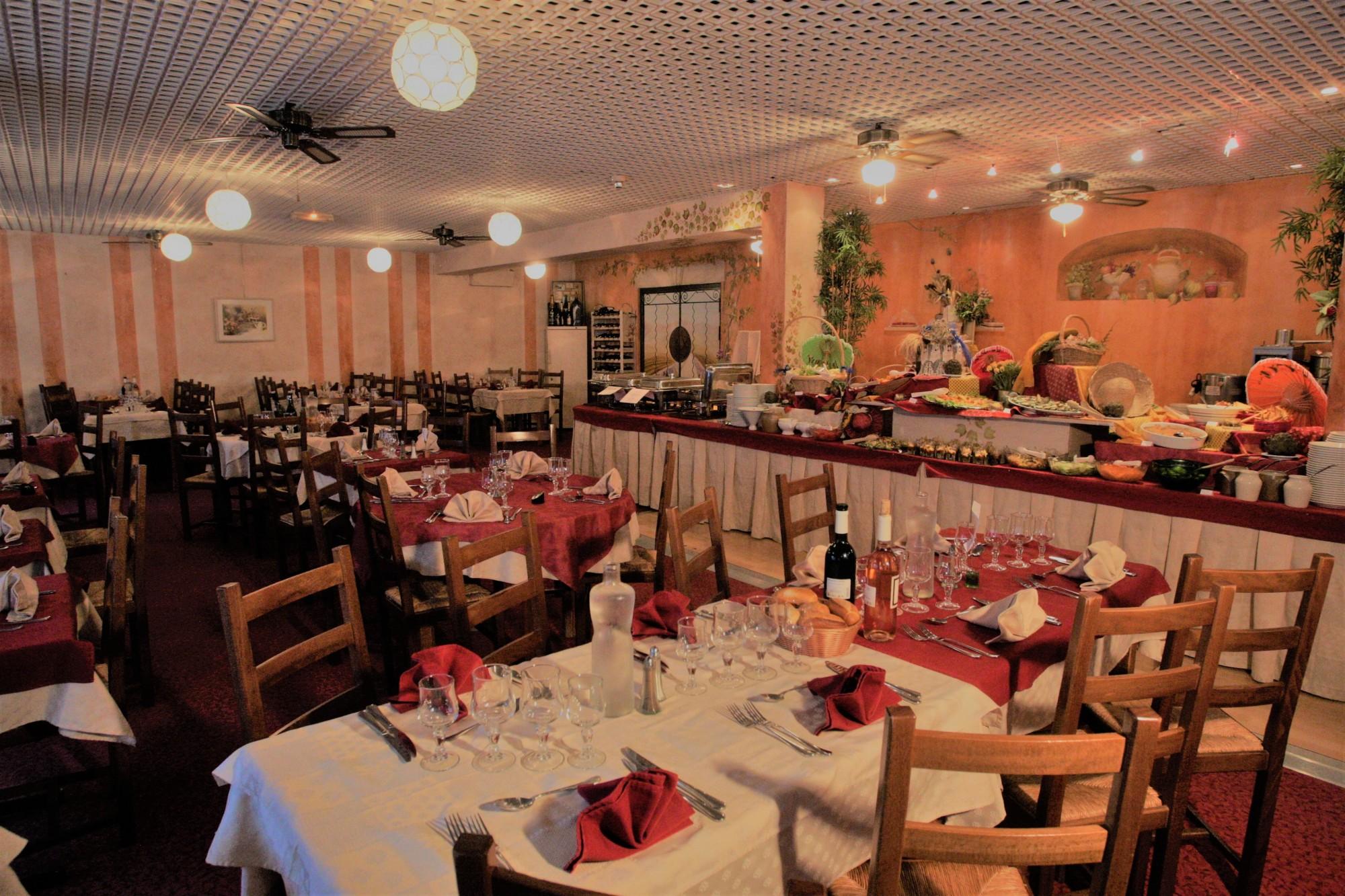 restaurant montagne buffet carte spécialités montagnardes