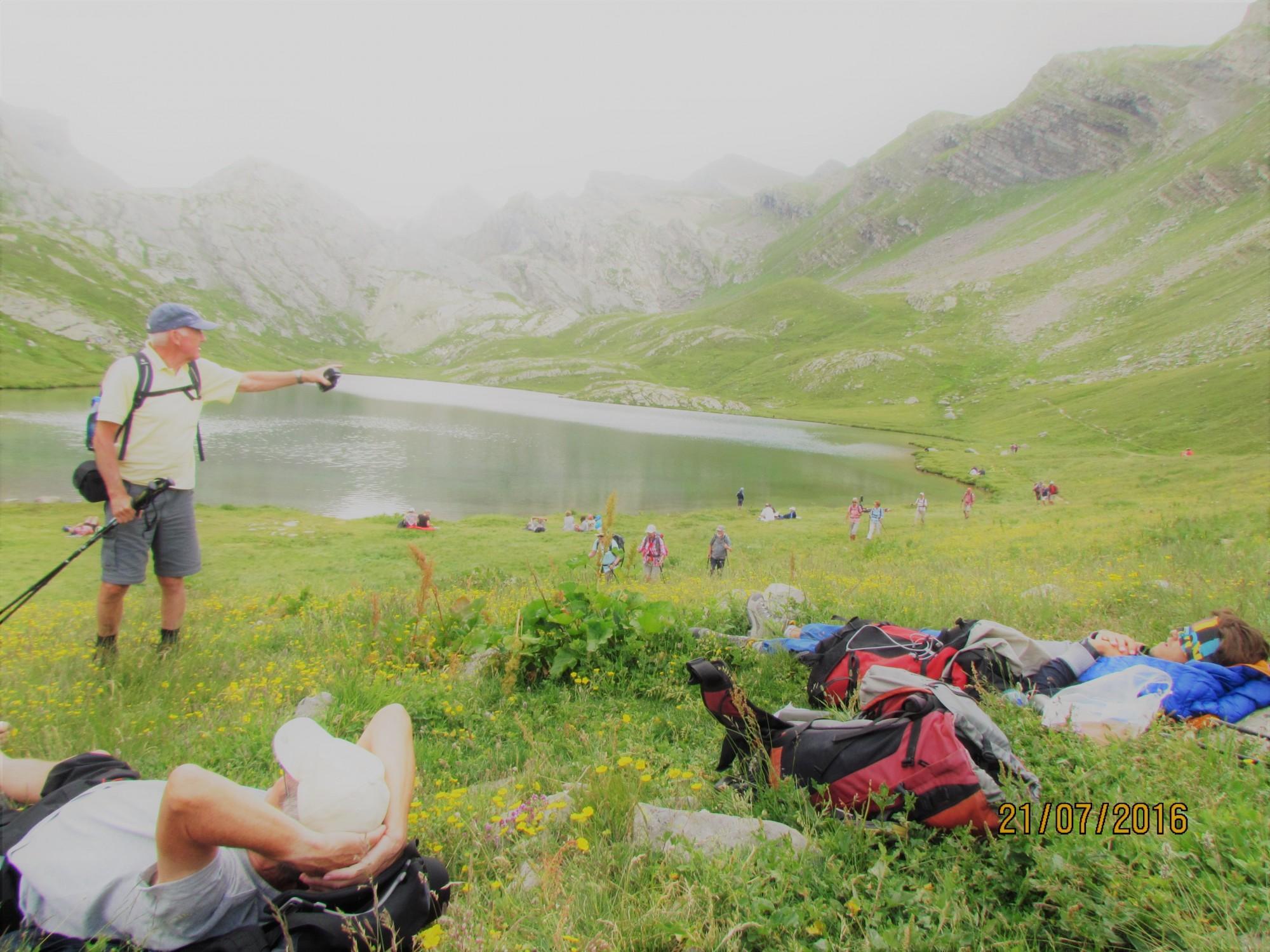 lac lauzet vallée ubaye montagnes randonnée
