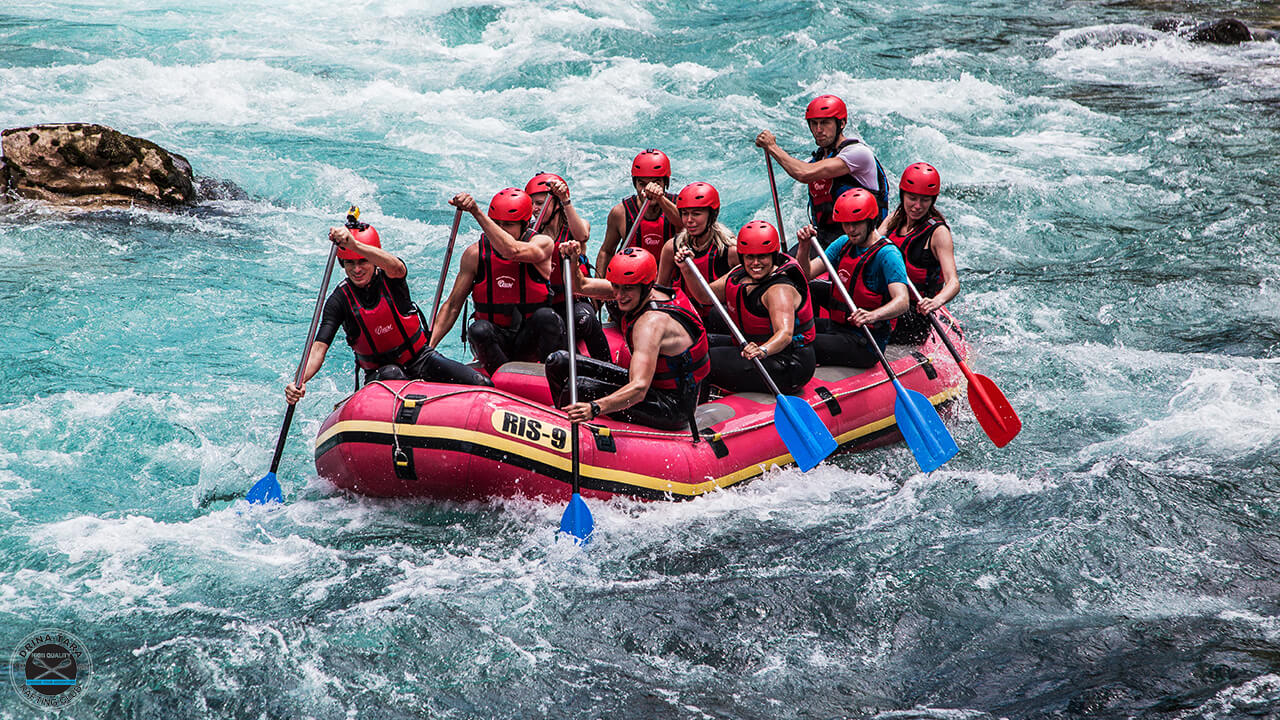 lac lauzet vallée ubaye montagnes rafting