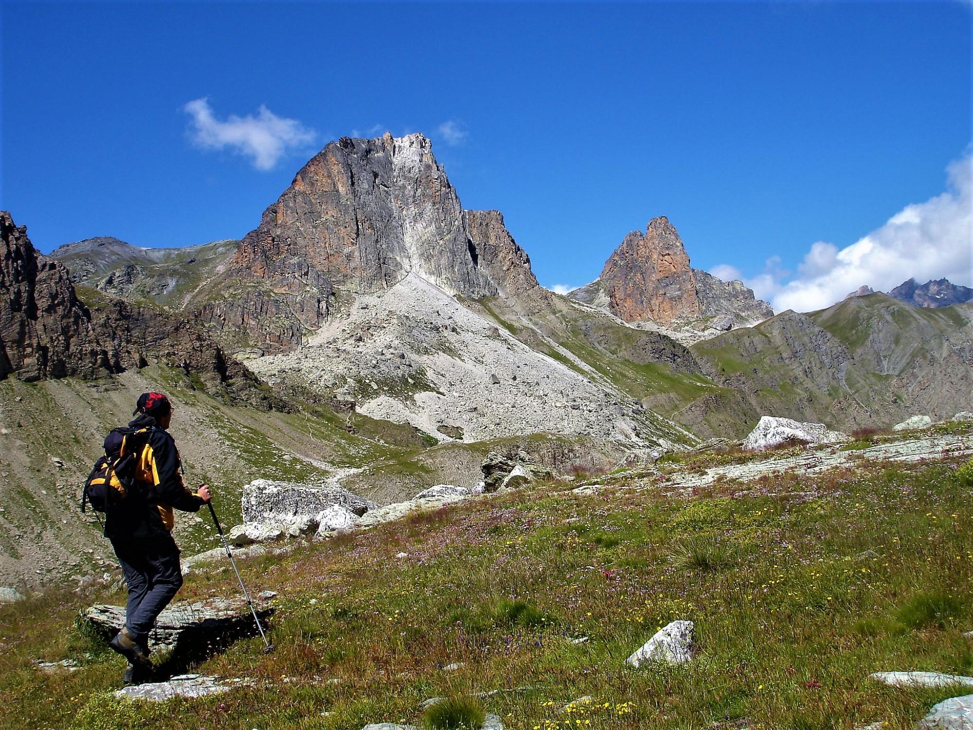 marche à pied alpes