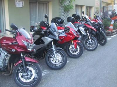 Les motards toujours bienvenus à la Lauzetane
