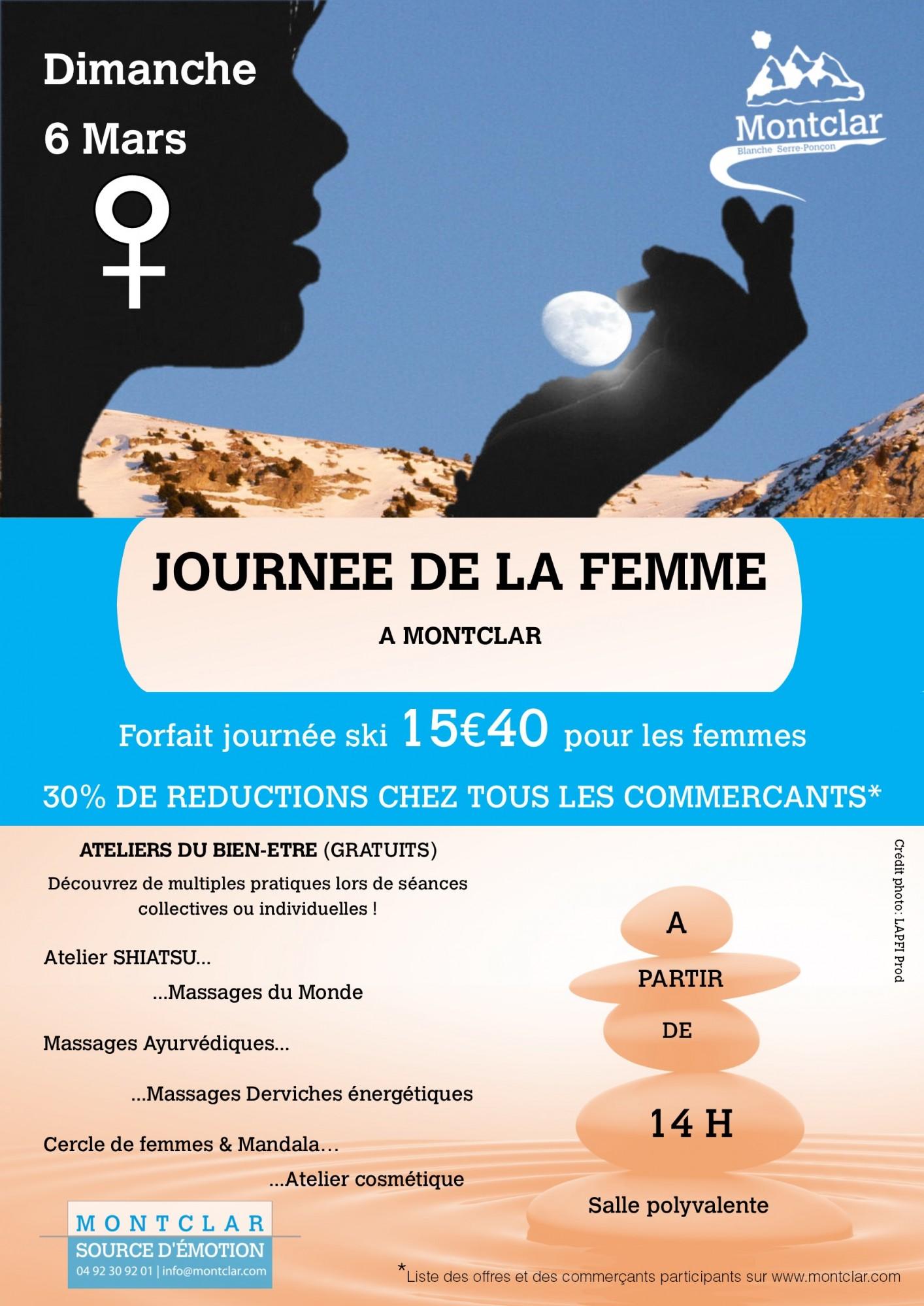 Journée de la femme à St Jean de Montclar