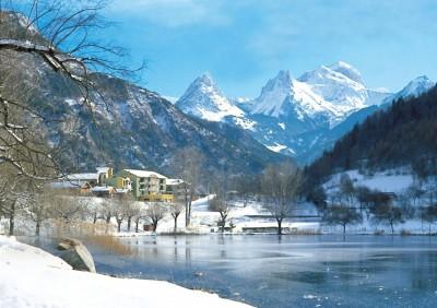 Hotel La Lauzetane en hiver