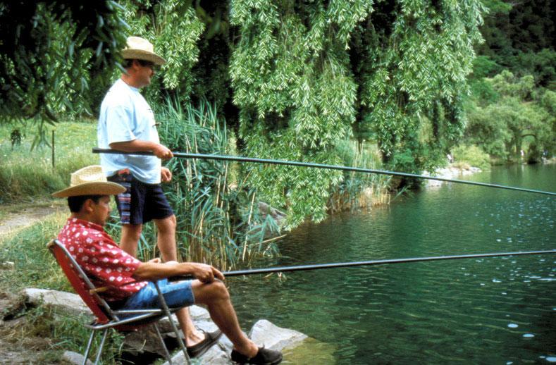 Pêche au lac du Lauzet